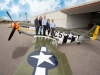 Commercial-Photography-Of-WWII-Plane-At-Airport