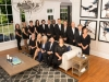 Real Estate Group Shot In Luxury Home Taken In North Raleigh NC