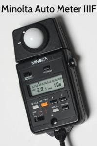 Minolta Auto Meter IIIF