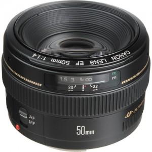 Canon 50mm 1.4 Prime Lens