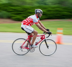 Bicycle Rider in Cary NC