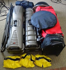 Equipment Packed Up