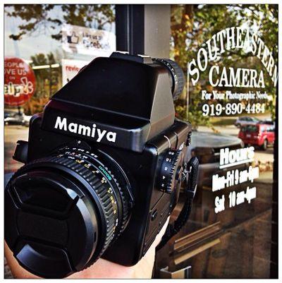 Mamiya 645E Film Camera