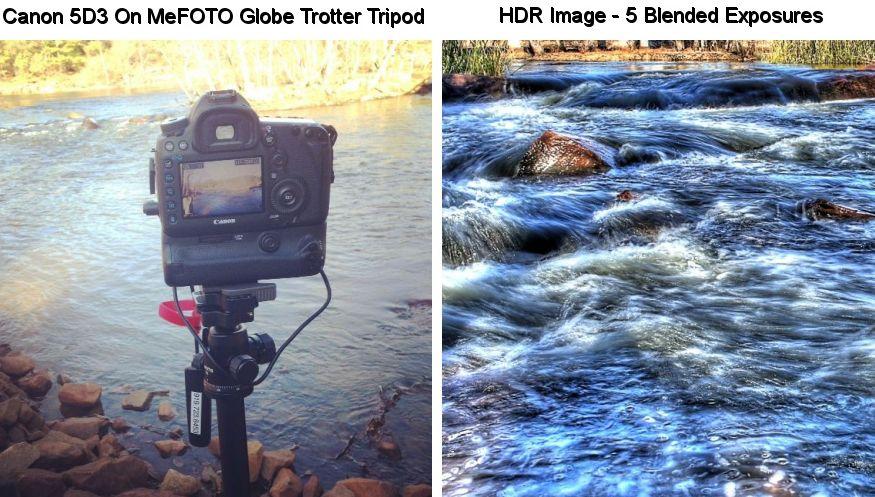 Canon 5D3 on MeFOTO Globe Trotter Tripod HDR Image - 5 Blended Exposures