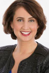 Female Vertical Headshot on White Background Taken in Raleigh Studio