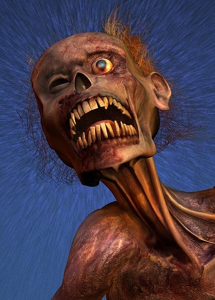 Zombie Headshot Purcahsed At Big Stock Under UWS