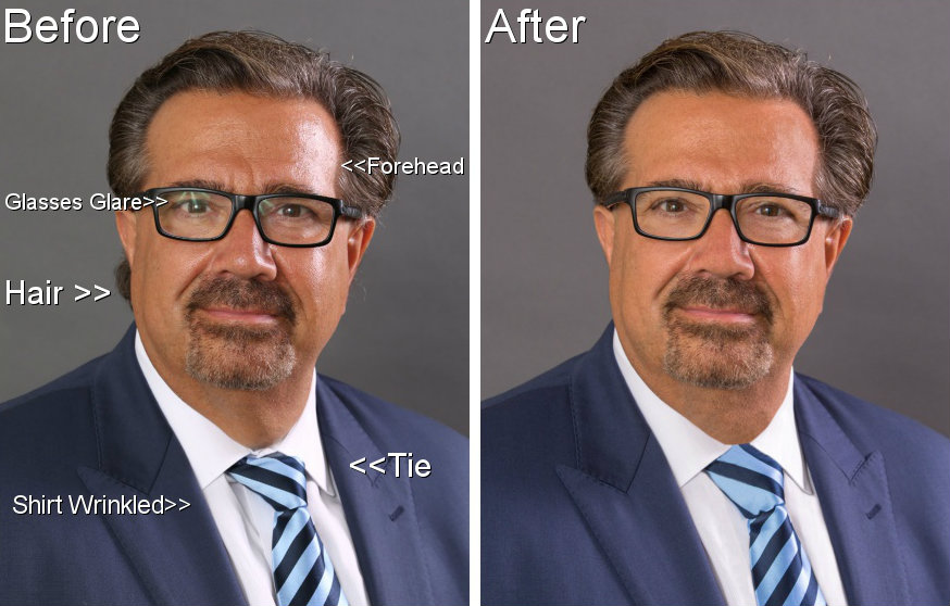 Before and After Full Edit for Site