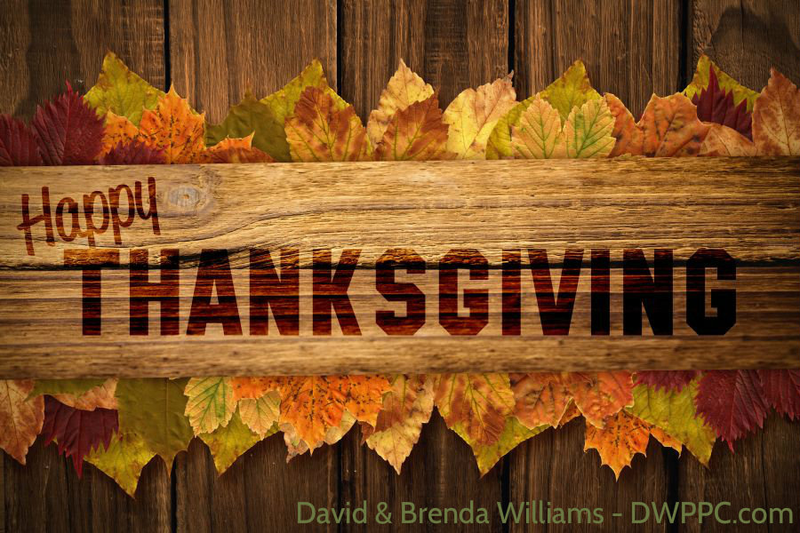 Happy Thanksgiving DWPPC.com
