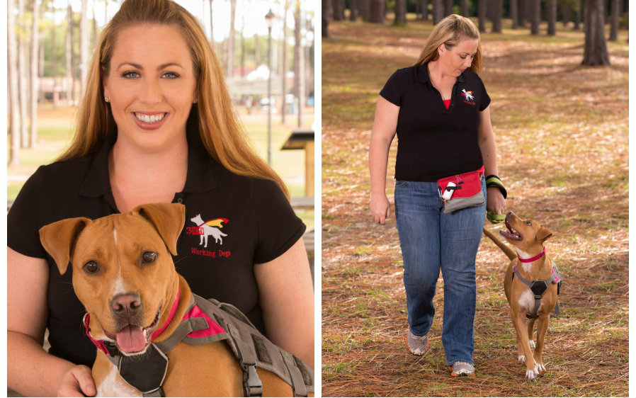 Photography of Female Dog Trainer With Her Dog for Small Business Use