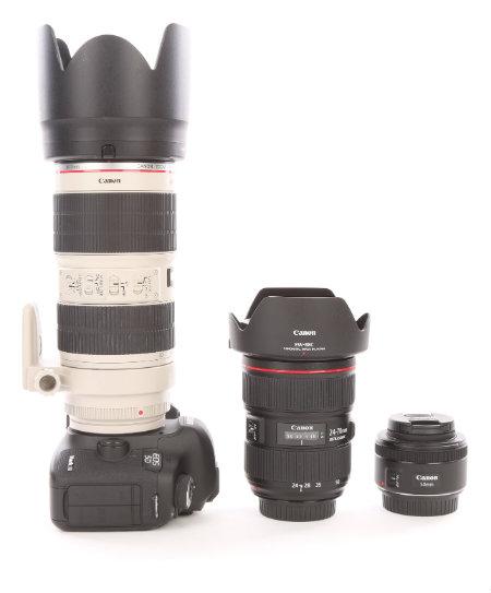 Canon 5D Mark III - Canon Professional Lenses