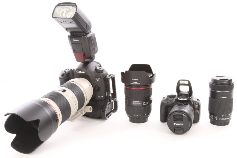 Professional Camera Gear Vs. Consumer Camera Gear