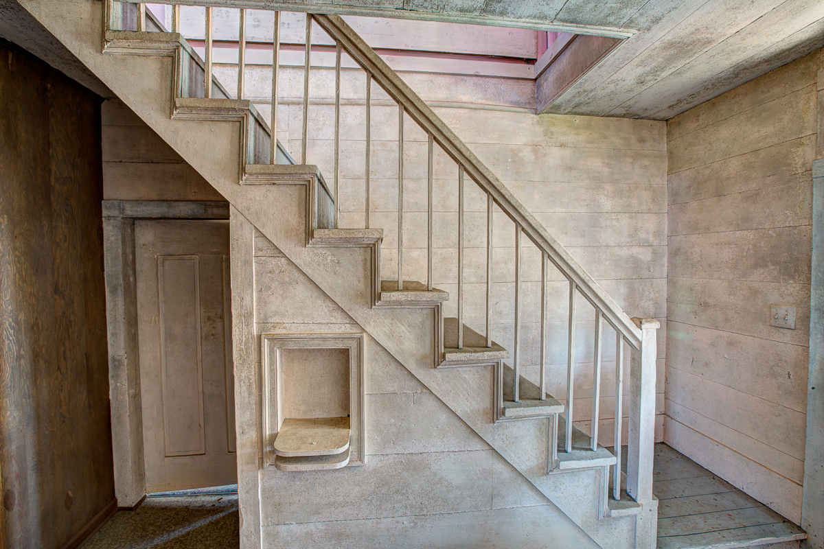 Architectural Photography of Staircase In Raleigh