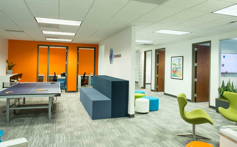 Commercial Photography of Interior at Office Building in Durham NC