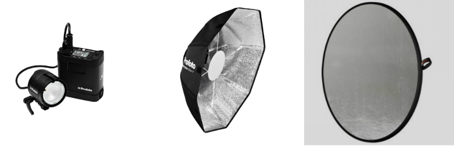 Lighting Tools Profoto B2 - Profoto OCF Silver Beauty Dish