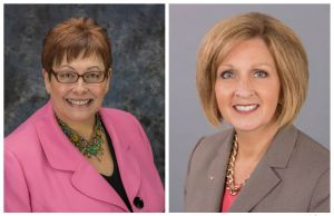 Executive Women Headshots One Muslin Background and One Gray.jpg
