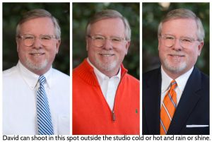Outdoor Headshot At North Raleigh Photography Studio.jpg
